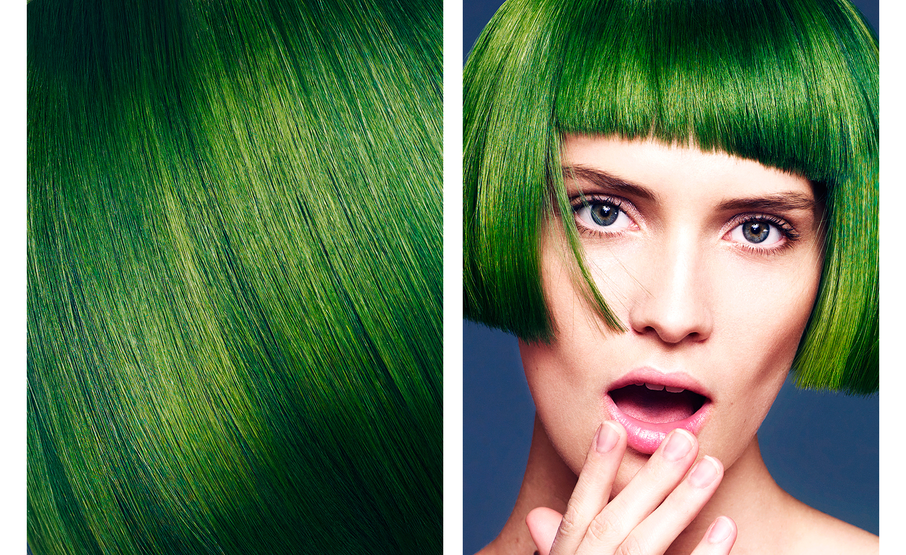 Aveda-Customized Color-Green Bob.jpg